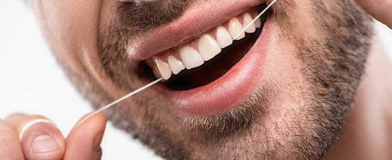 Flossing Plaque