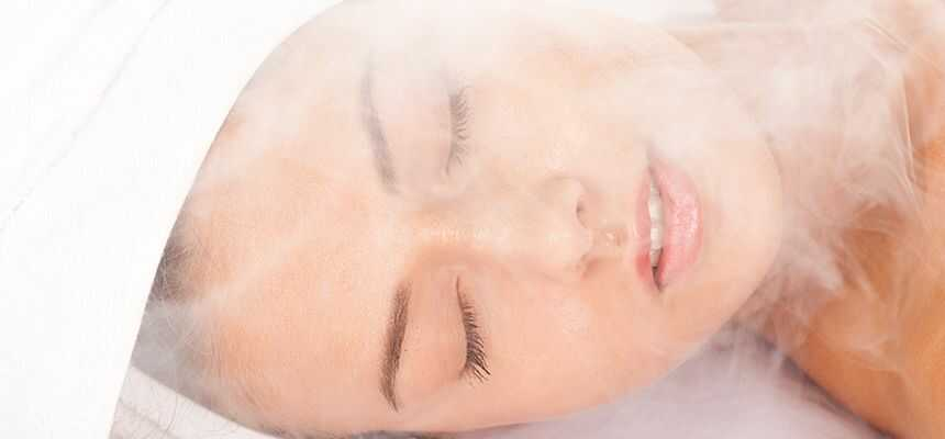 How to facial steam bath