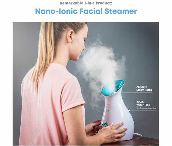 Nano Steamer Ease Of Use