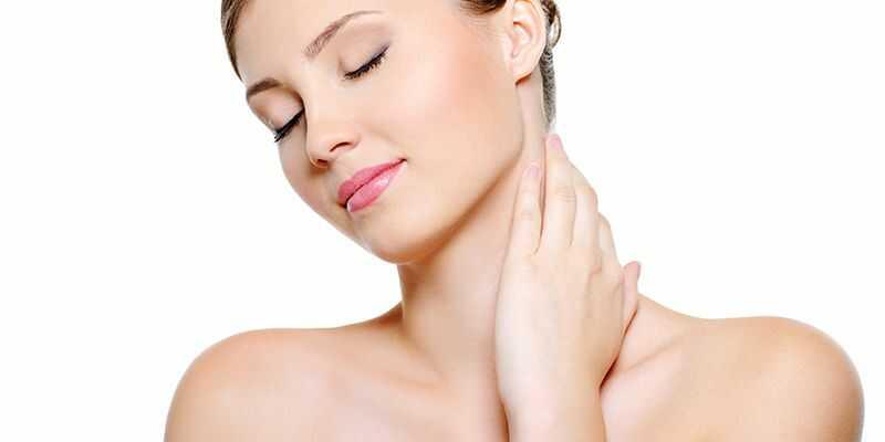 Skin Routine Neck