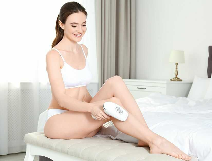 Choose At Home Laser Hair Removal