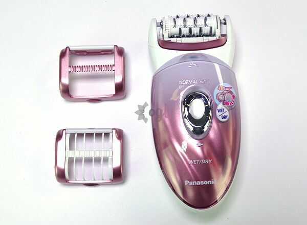Different Epilator Heads