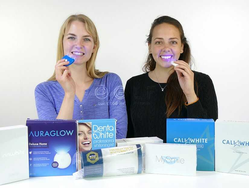 Example LED Teeth Whitening Products