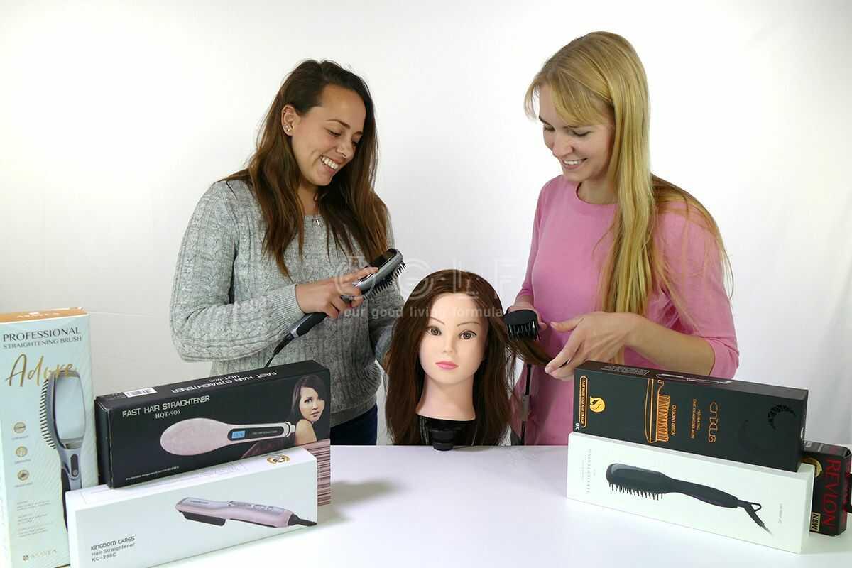 Best Hairbrush Straightener