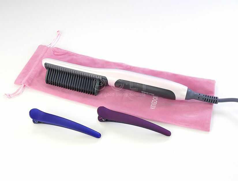 KingdomCares Professional Straightener Brush