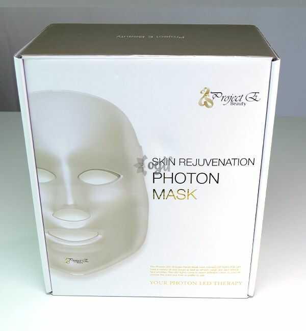 Project E Beauty 7 Color LED Mask Photon Light Skin Rejuvenation