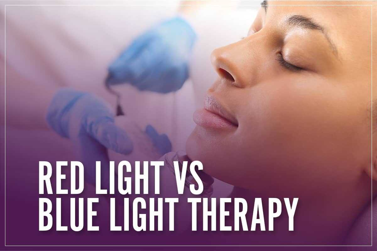 Red Light Vs Blue Light Therapy
